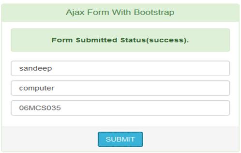 AjaxForm : Asynchronous Form Submit -Tutorial Savvy